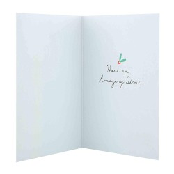 Hallmark Handmade Christmas Xmas Boxed Cards 'Glitter Shaker' 10 Cards, 2 Designs