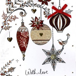 Someone Special Embellished Single Christmas Card