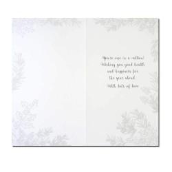 Special Grandma Embellished Single Christmas Card