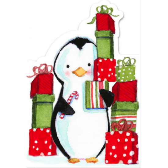 Hallmark Christmas Cards.Penguin Hallmark Xmas Christmas Greeting Cards Charity Pack