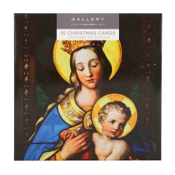Gallery Religious Madonna & Child Camel Journey 10 Gloss Photo Finish Blank Christmas Cards (5 each of 2 Designs)