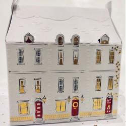 5 Town House Keepsake Luxury Pop Up 3D Christmas Cards Xmas Box by Hallmark