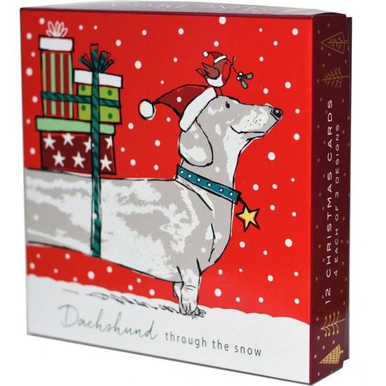 Birthday Card Dachshund Sausage Dog The Wildlife Ling Design Granddaughter
