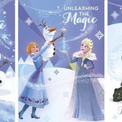 Disney Frozen - 18 Pack of Children's School Christmas Xmas Cards - 3 Designs