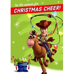 Disney Toy Story - 18 Pack of Childrens Christmas Cards - 3 Designs