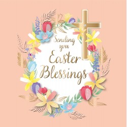 Sending You Easter Blessings Luxury Handmade 3D Card By Talking Pictures