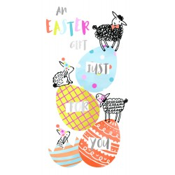 An Easter Gift 3 Eggs Money Wallet Card By Talking Pictures