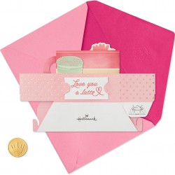 Luxury Pop-Up Mother's Day Card - Love You A Latte - Paper Wonder From Hallmark