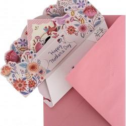 Luxury Pop-Up Mother's Day Card - Floral Bird Box - Paper Wonder From Hallmark