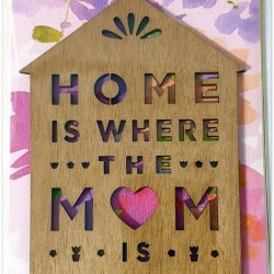 Luxury Keepsake Mother's Day Card - Home Is Where The Mum Is - Signature From Hallmark