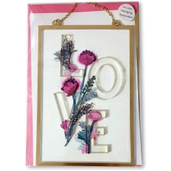 Luxury Hanging Keepsake Mother's Day Card - LOVE - Signature From Hallmark
