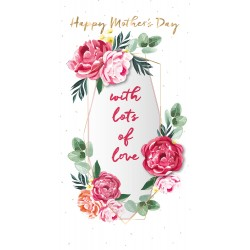 Happy Mother's Day Luxury Laser Cut Handmade Card By Talking Pictures