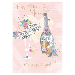 Let's Celebrate You! Large Luxury 3D Handmade Mother's Day Card By Talking Pictures