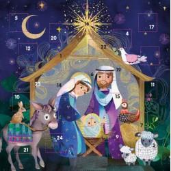 Nativity Birth of Jesus Religious Christmas Advent Calendar