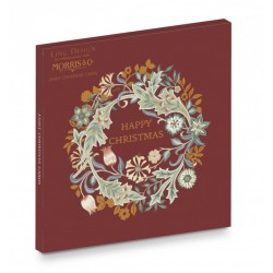 Wilhelmina Ling Design - William Morris - Curious Inksmith - Christmas Wallet Pack of 8 Xmas Cards in 2 Designs