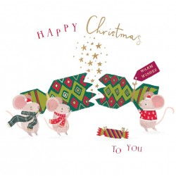For Santa - Ling Design - Curious Inksmith - Christmas Wallet Pack of 8 Xmas Cards in 2 Designs
