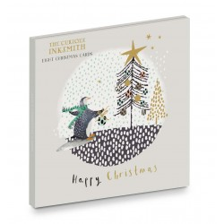 Arctic Christmas - Ling Design - Curious Inksmith - Christmas Wallet Pack of 8 Xmas Cards in 2 Designs