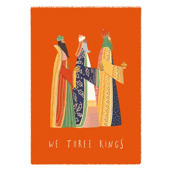We Three Kings Ling Design Religious Art - British Heart Foundation Charity Christmas Cards - Pack of 6 Xmas Cards