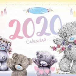 2020 A4 Family Organiser Me to You Tatty Teddy Bear Calendar Week to View