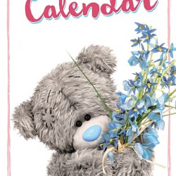 2020 Me To You Tatty Teddy Bear Photo Finish Slim Calendar