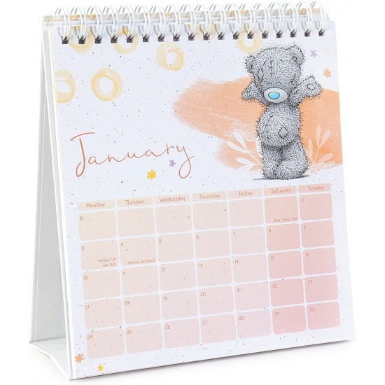 2022 Tatty Teddy Standing Flip Desk Calendar