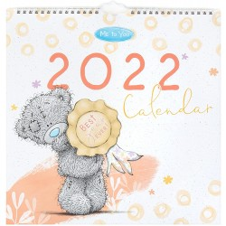 2022 Classic Tatty Teddy Bear Square Flip Wall Calendar