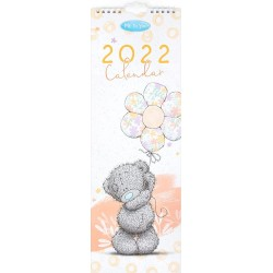 Me to You 2022 Classic Tatty Teddy Bear Slim Wall Calendar