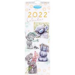 Me to You 2022 Tatty Teddy Cute Slim Wall Calendar