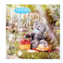 Me to You 2022 Tatty Teddy Bear Photo Finish Square Wall Calendar