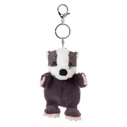 All Creatures Milton The Badger Keyring and Bag Charm