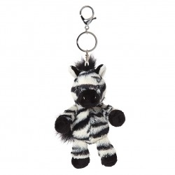 All Creatures Otis The Zebra Keyring and Bag Charm