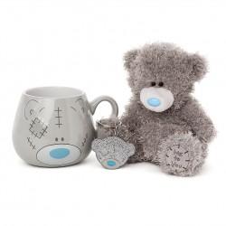 "6"" Tatty Teddy Bear, Ceramic Mug & Keyring Me to You 3 Piece Gift Set"