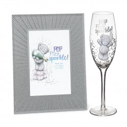 Sparkle Frame & Champagne Flute Me to You Tatty Teddy Bear Signature Gift Set