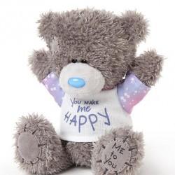 "5"" You Make Me Happy T Shirt Me to You Tatty Teddy Bear"