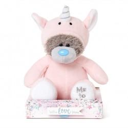"7"" Dressed as Pink Unicorn Me to You Tatty Teddy Bear"