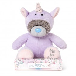 "7"" Dressed as Purple Unicorn Me to You Tatty Teddy Bear"