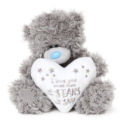 "9"" Love You More Than The Stars Padded Heart Me to You Tatty Teddy Bear"