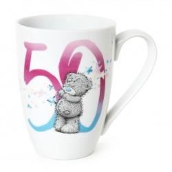 Me to You Mug in Box 50th Birthday by tatty Teddy Bear