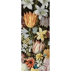 Bosschaert's A Still Life of Flowers in a Wan-Li Vase 3D Keyring by The National Gallery