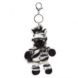 All Creatures Otis The Zebra Keyring and Bag Charm