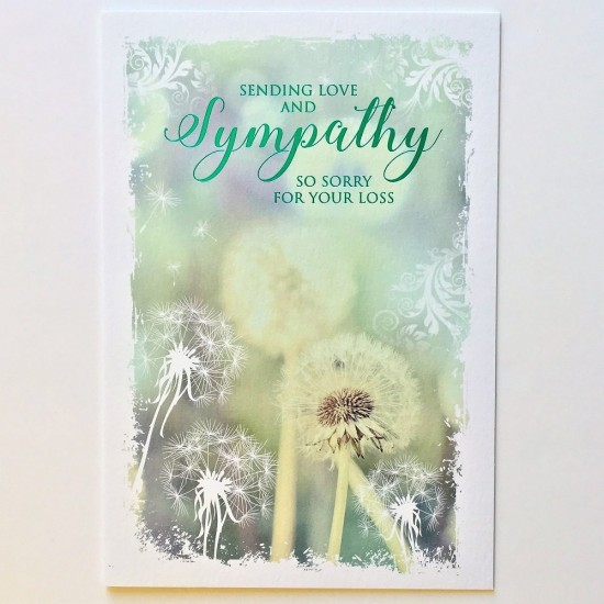 Cherry Orchard Sending Love & Sympathy Sorry For Your Loss Card
