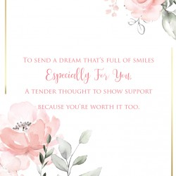 Someone Special 6 Verse Booklet insert Luxury Female Birthday Greeting Card