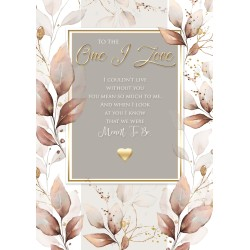 One I Love 6 Verse Booklet insert Luxury Male Birthday Greeting Card