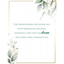 Dad you are Amazing Thank You 6 Verse Booklet insert Luxury Birthday Greeting Card