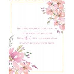 Special Nan 6 Verse Booklet insert Luxury Birthday Greeting Card