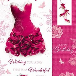 To A Very Special Granddaughter Happy Birthday Card