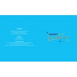 All The Best Men Are Born In January Male Happy Birthday Card