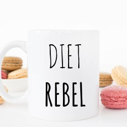 Diet Rebel Ceramic Mug