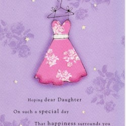 Happy Birthday Special Daughter Greeting Card