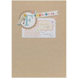 Congratulations On Adopting - It's Wonderful News! Greeting Card